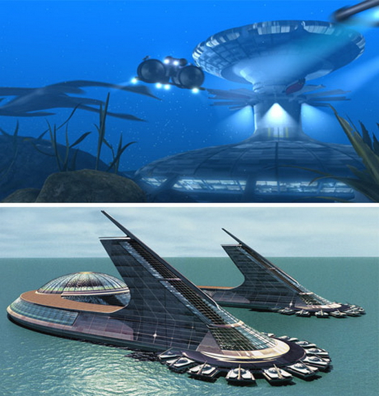 Sea Cities of The Future