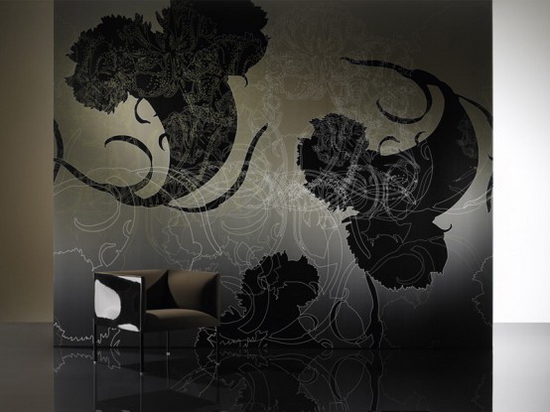 Black and White Wallpapers with Crazy Patterns - - -