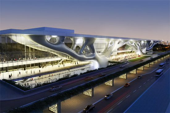 Qatar National Convention Center more Qatar National Convention Center Aims at LEED Gold