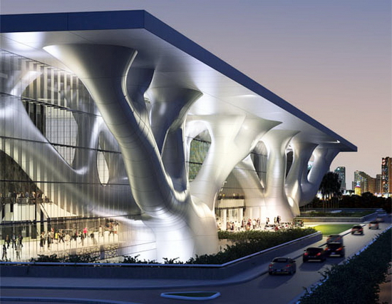 Qatar National Convention Center Qatar National Convention Center Aims at LEED Gold