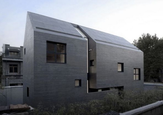The Whole House Made of Concrete 3 Slit House | Minimalist House Design Framed by Concrete