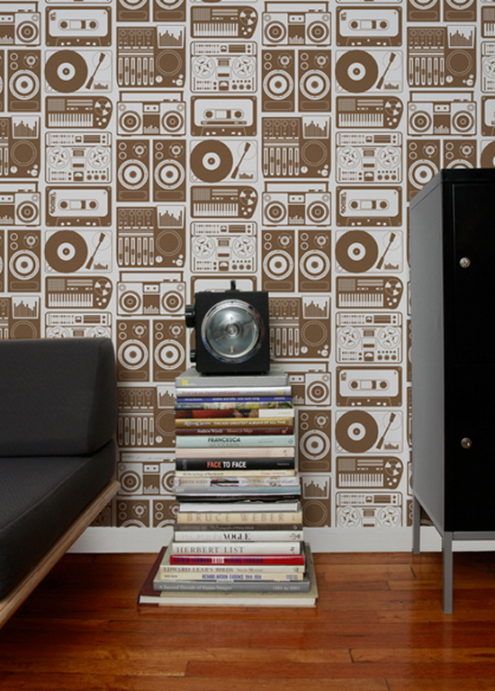 analognights 25 Creative Wall Coverings