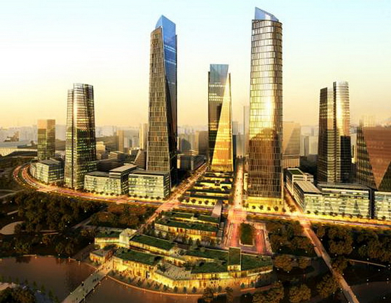 beijing district 1 Green Geothermal District Project in Beijing Revealed by SOM