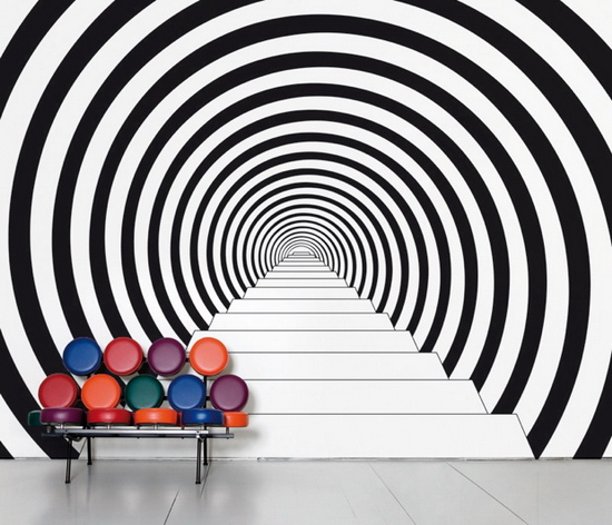 down the rabbit hole 25 Creative Wall Coverings