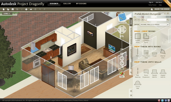 Clip DIY Floor Plans with Autodesk Free Online Software