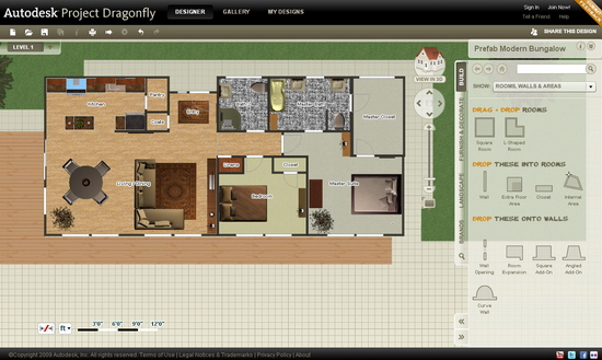 Clip 2 DIY Floor Plans with Autodesk Free Online Software