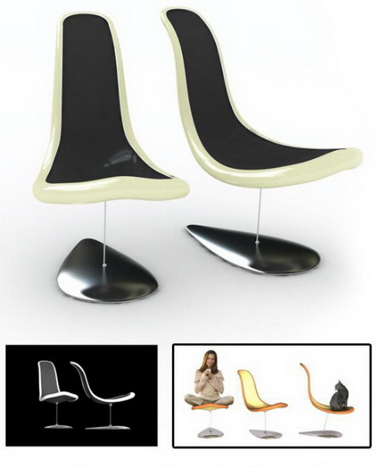 floating chair magno baita design Concept: Floating Chair | Baita Design of Brazil
