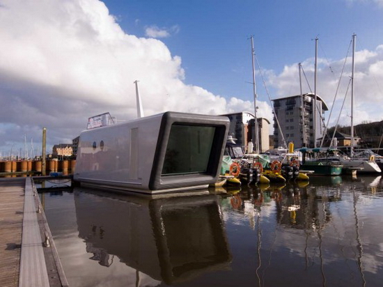 floating prefab house H2Office – Prefab Floating Office