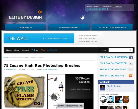 elite Free Photoshop Brushes | Resources for Designers