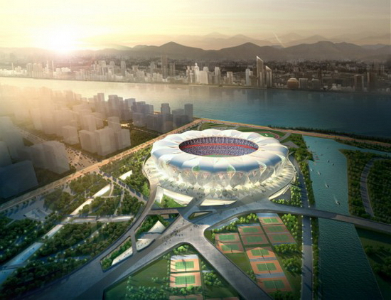 hangzhou 1 NBBJ and CCDI |Hangzhou Sports Park