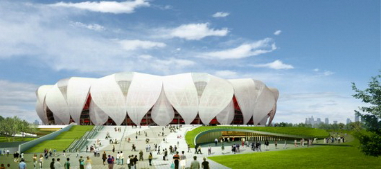 hangzhou NBBJ and CCDI |Hangzhou Sports Park