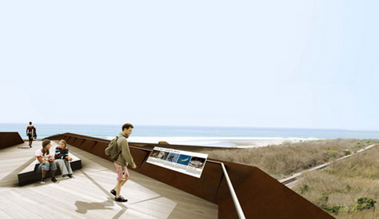 beach footbridge 7