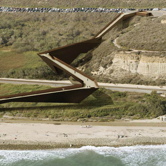 beach footbridge  Dan Brill Architects | Beach Footbridge