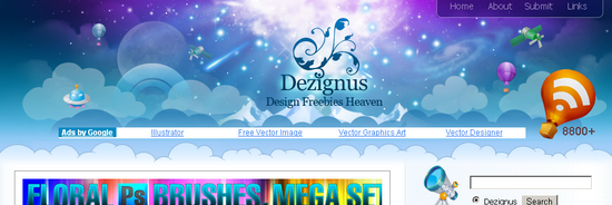 dezignus Free Illustrator Vector Resources