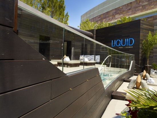 Aria Pool Deck 3 GRAFT | Aria Pool Deck, Restaurant & Bar   Las Vegas