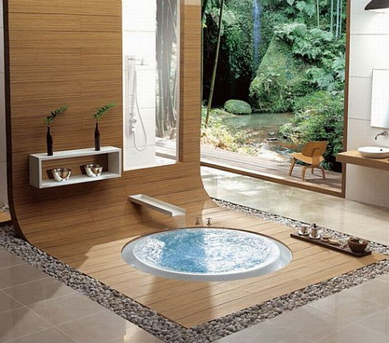 oriental hydrotherapy whirlpool tubs from kasch 500x440 Top 2010 Bathroom Design Ideas