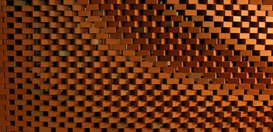 bricks curved light Curved Brick Walls | Crafted By Robots